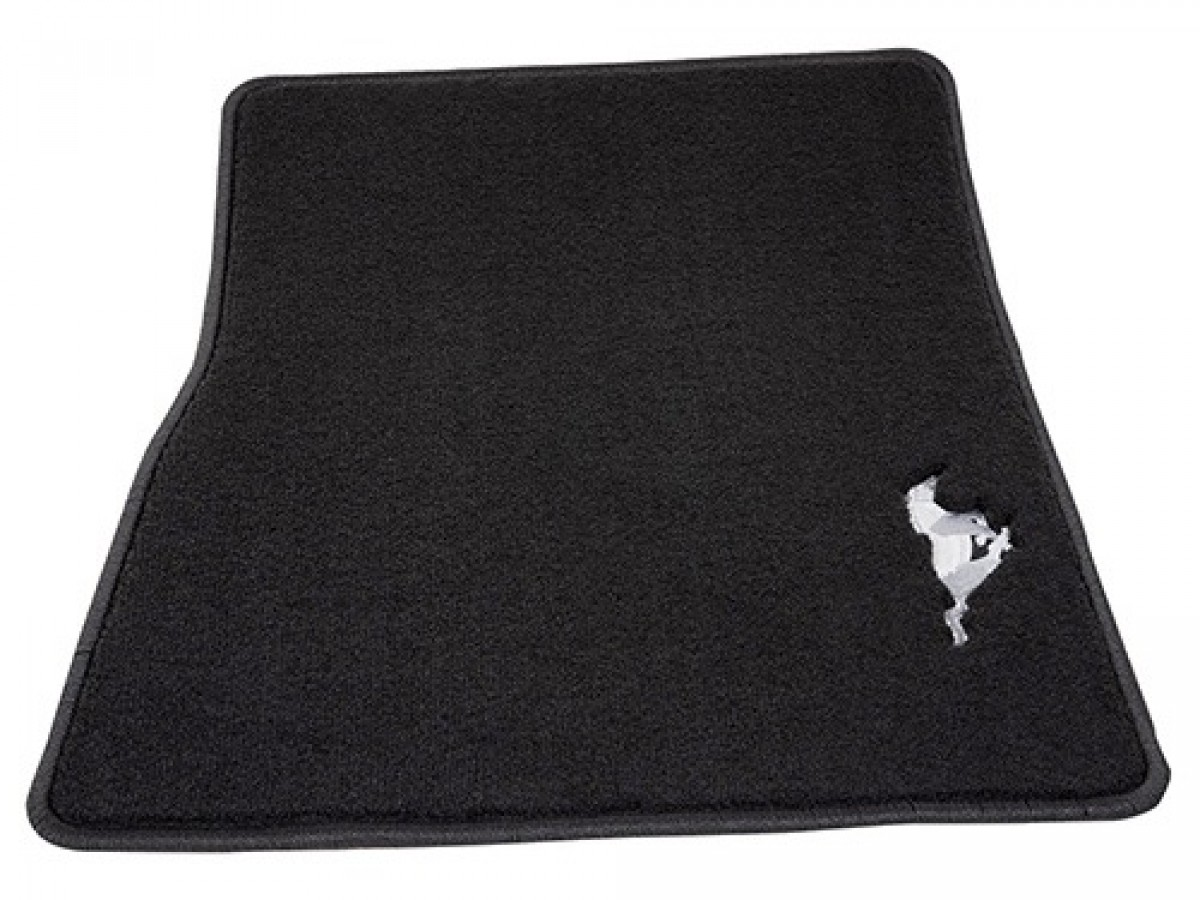 Ford Performance Carpeted Floor Mats - Black W/ Silver ...